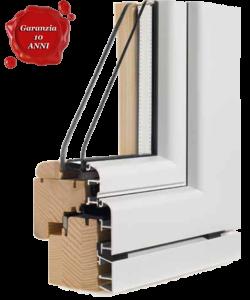 In abruzzo realizziamo serramenti in legno e alluminio al for Prezzo infissi legno