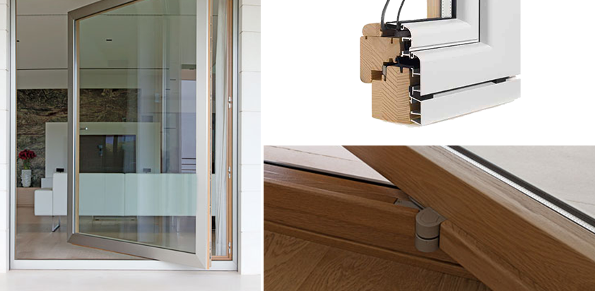 In abruzzo realizziamo serramenti in legno e alluminio al for Prezzi porte finestre in alluminio